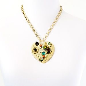 NWOT! Betsey Johnson Necklace Statement Pendant